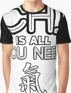 Chi Is All You Need [Chi Symbol] [Inline] Graphic T-Shirt