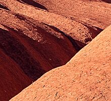 Uluru Lines in the Rock by Anthony Judd