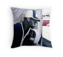 Gunman Throw Pillow