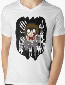 SKELETON DEATH Mens V-Neck T-Shirt