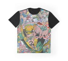 Vintage Comic Iron Fist Graphic T-Shirt
