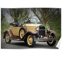 Ford Model A 1930 Poster