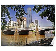 19th Century Bridge to the 21st Century Southbank Poster