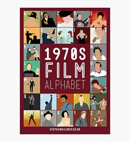 1970s Film Alphabet Photographic Print