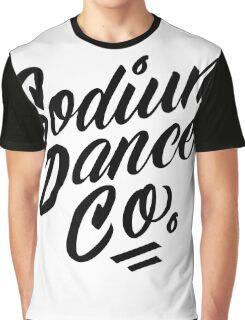 Sodium Dance Co. Script Logo - Black Lettering Graphic T-Shirt