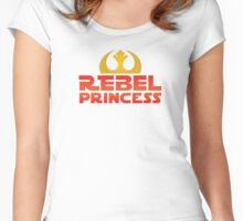 Rebel Princess Women's Fitted Scoop T-Shirt