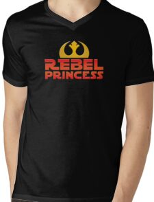 Rebel Princess Mens V-Neck T-Shirt