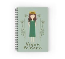 Vegan Princess Spiral Notebook