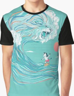surfing zebra Graphic T-Shirt