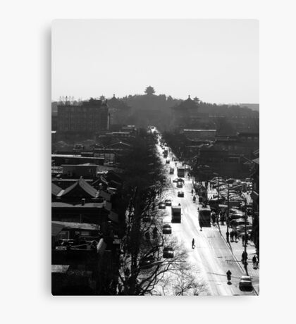 From The Drum Tower (Gǔlóu) Canvas Print