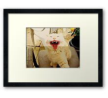 And then I Laughed BIG time Framed Print