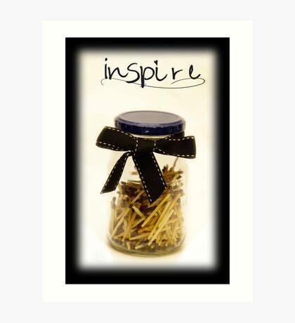 Jar inspiration Art Print