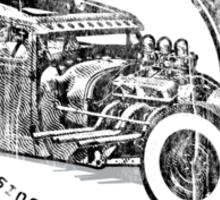 ROCKSALT GARAGE ORIGINAL Sticker