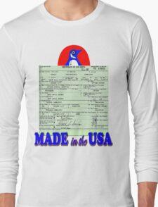 Penguin for Mayor Long Sleeve T-Shirt