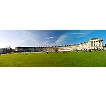 Architectural   The Royal Crescent Photographic Print