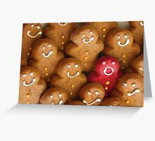 Oh, one hot cookie Greeting Card