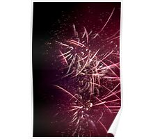 Fireworks New Years Eve 2011 Wentworth Falls Poster