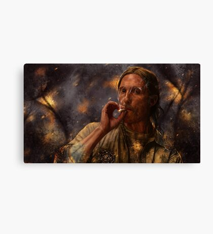 True Detective - Rust Cohle 2014 Canvas Print