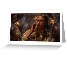 True Detective - Rust Cohle 2014 Greeting Card