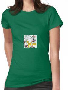 omar assi kekkofg Womens Fitted T-Shirt