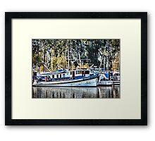 Ocean Belle Framed Print
