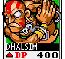 Dhalsim by Lupianwolf
