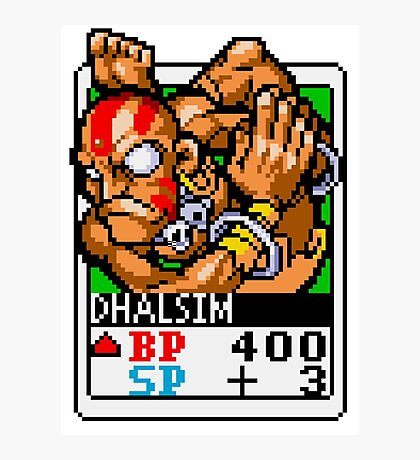 Dhalsim - Street Fighter Photographic Print