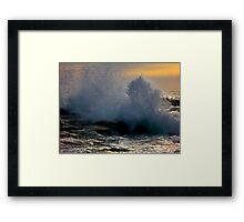 Southern Waves Framed Print