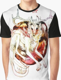 Cristal wolf Graphic T-Shirt
