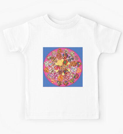 Fabulous Fifties Candy Mandala Kids Tee