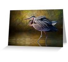 Heron Creek Greeting Card