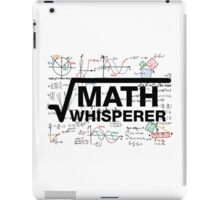 Math Whisperer iPad Case/Skin