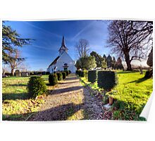 St Mary & All Saints - Lambourne Poster
