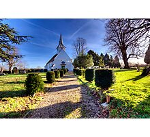 St Mary & All Saints - Lambourne Photographic Print