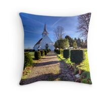 St Mary & All Saints - Lambourne Throw Pillow