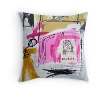 Tourist Throw Pillow