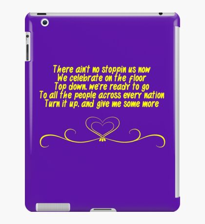 There Ain't No Stopping Us Now - Bayley NXT iPad Case/Skin