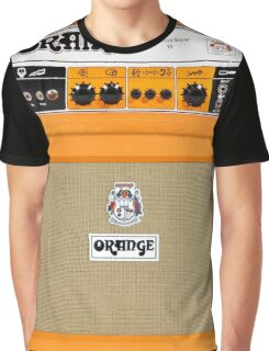 Orange color amp amplifier Graphic T-Shirt