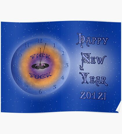 2012 New Year Poster