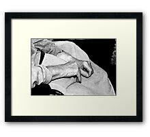 Hands of time Framed Print