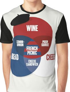 French Picnic Graphic T-Shirt