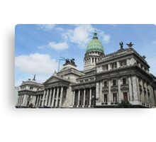 Argentinian Congress Canvas Print