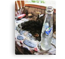 The Fanta And The Sink Canvas Print