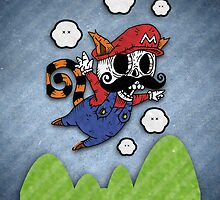 Dead Mario by oskunk