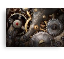 Steampunk - Gears - Horology Canvas Print