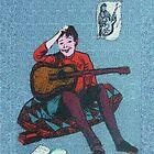 Guitarist by Joyce Grubb