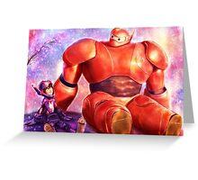 Big Hero 6 - Baymax and Hiro  Greeting Card