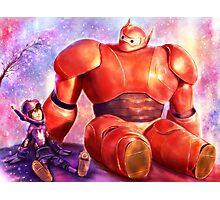 Big Hero 6 - Baymax and Hiro  Photographic Print
