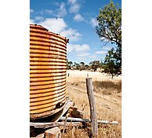 0860 I love a sun burn't country 2 Photographic Print