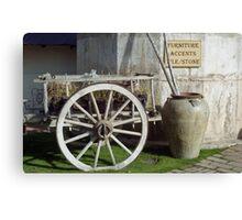 Tubac Cart Canvas Print